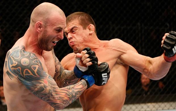 Caio Magalhaes x Luke Zachrich UFC MMA (Foto: Getty Images)