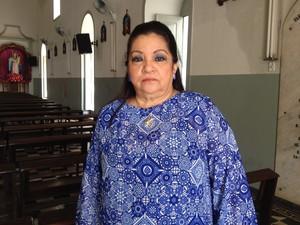 Segundo Telma Duarte, o termo de referência vai ajudar na restauração (Foto: Fabiana Figueiredo/G1)