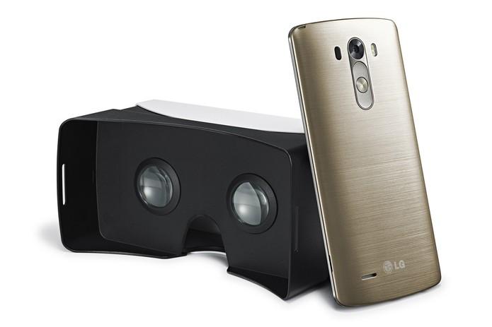 LG lança dispositivo de realidade virtual, no estilo Gear VR (Foto: Divulgação/LG) (Foto: LG lança dispositivo de realidade virtual, no estilo Gear VR (Foto: Divulgação/LG))