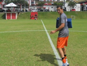 Eduardo Ramos - treino Vitória (Foto: Divulgação / Vitória)