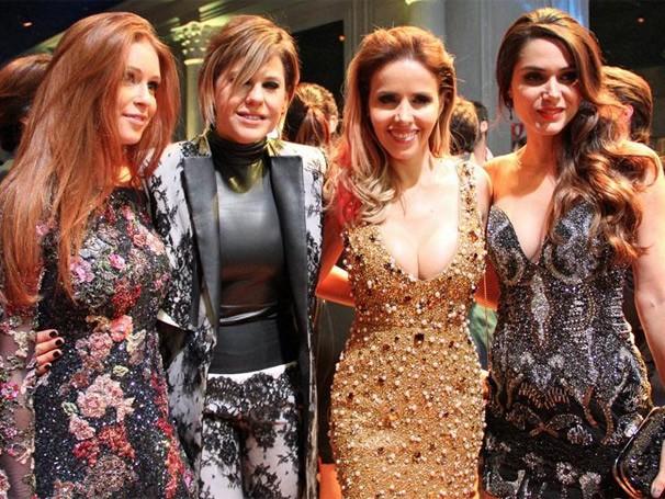 Mais musas: Marina Ruy Barbosa, Bárbara Paz, Leona Cavalli (Foto: Miriam Paço/ TV Globo)