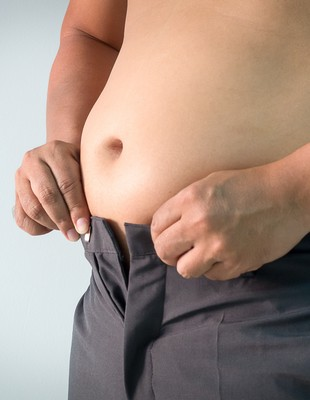 Gordura abdominal euatleta (Foto: Istock getty images)
