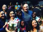Letícia Sabatella posta foto em evento e fala em tolerância