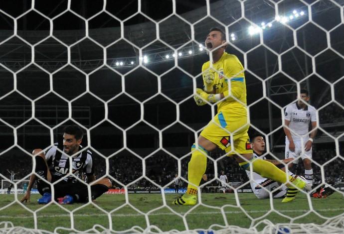 Gatito Fernandez Botafogo x Colo-Colo (Foto: André Durão)