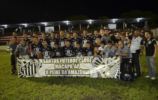 Santos Embarca Copa Norte (Foto: Jonhwene Silva)