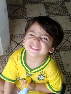Kaleb morreu na tarde de sábado (31) quando participava de passeio com os pais (Foto: Arquivo da família)