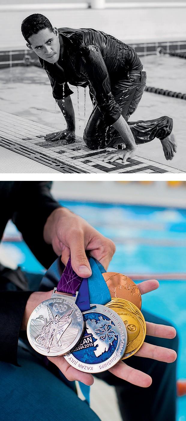 Thiago é o maior  campeão brasileiro dos  Jogos Pan-Americanos,  com 23 medalhas  (Foto:  )