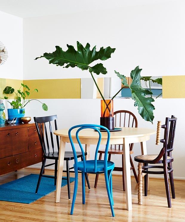 Os tons terrosos finalizam o décor da parte de cima do lar e dão o toque aconchegante que o blogueiro enfatiza como prioridade no lar (Foto: Rachel Whiting/Divulgação)