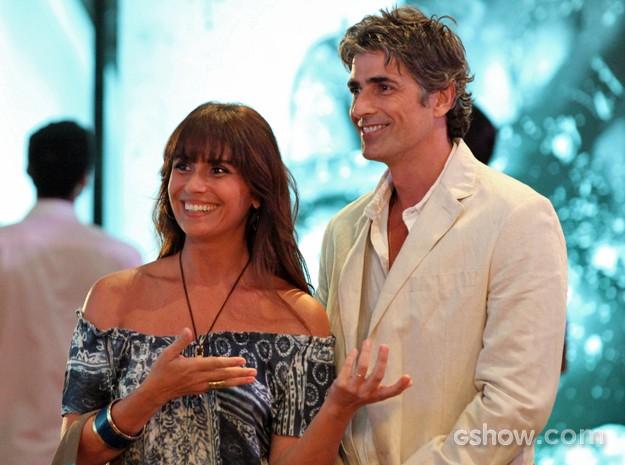 Giovana Antonelli e Reynaldo Gianecchini são o casal Clara e Cadu (Foto: Carol Caminha/ TV Globo)