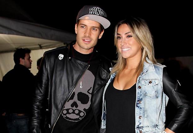 Matheus Verdelho e Dani Bolina (Foto: Ag. News)