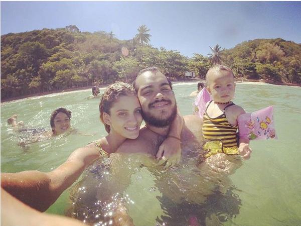 Francisco Gil com a família (Foto: Reprodução/Instagram)