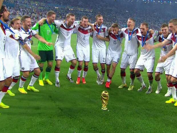 GNews - Alemanha campeã da Copa do Mundo (Foto: globonews)