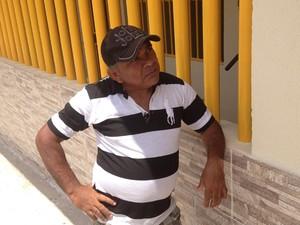 O preso Gilson Júlio acredita no trabalho para ressocialização de detentos no RN (Foto: Felipe Gibson/G1)