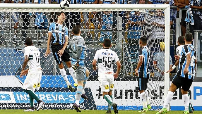 Geromel Grêmio x Coritiba (Foto: Lucas Uebel/Divulgação Grêmio)