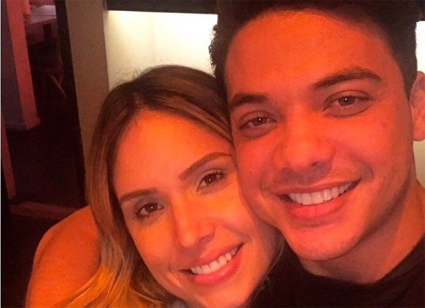 Wesley Safadão e a mulher, Thyane Dantas (Foto: Reprodução/Twitter)