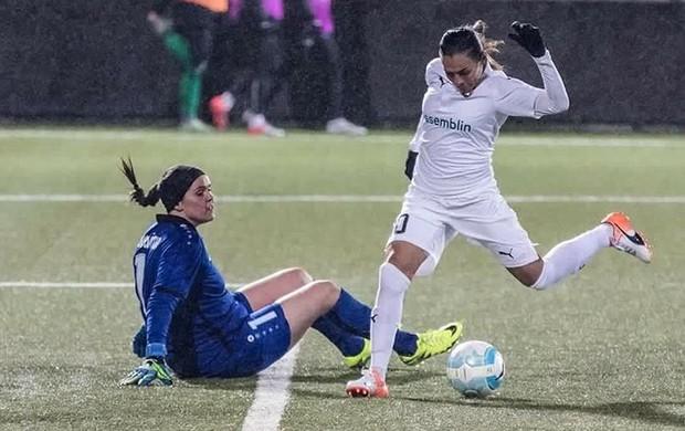 Marta em ação pelo Rosengard