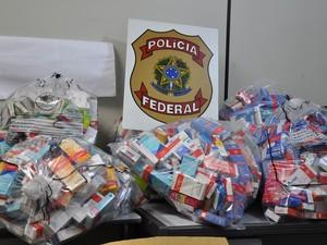 Foram cumpridos mandados de busca e apreensão em Santa Maria (Foto: Divulgação/Polícia Federal)