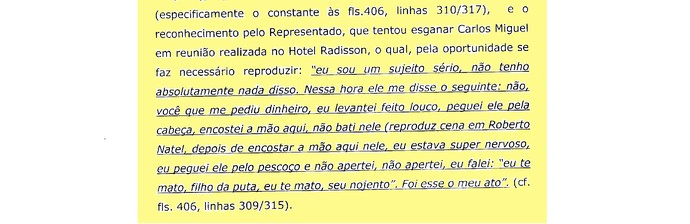 (editado) Parecer Comitê Ética São Paulo Página 5 (Foto: Arte: GloboEsporte.com)