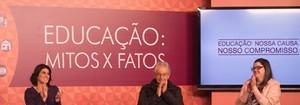 Saiba como foi a terceira edição do seminário Educação: Mitos x Fatos, realizado em São Paulo (Globo/Marcelo Caltabiano)