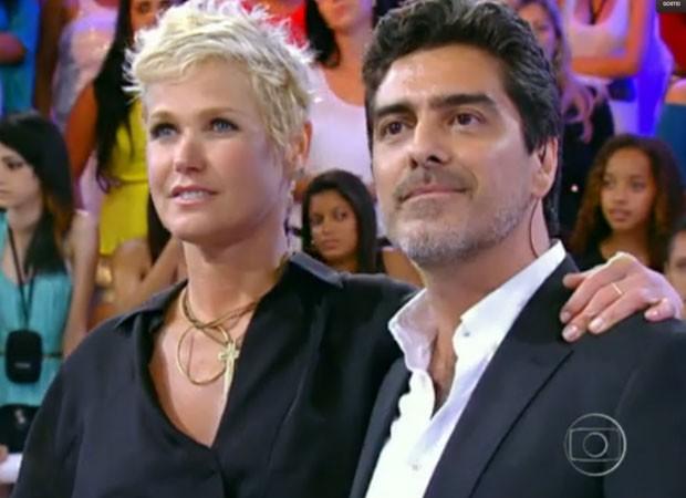 Xuxa e Junno Andrade (Foto: Reprodução/TV Globo)