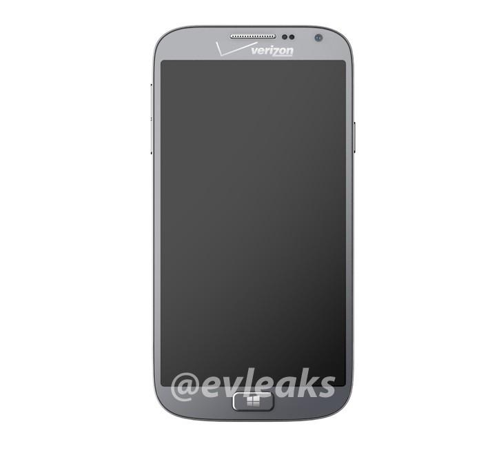 Novo telefone da Samsung teve foto vazada (Foto: Reprodução/Evleaks)