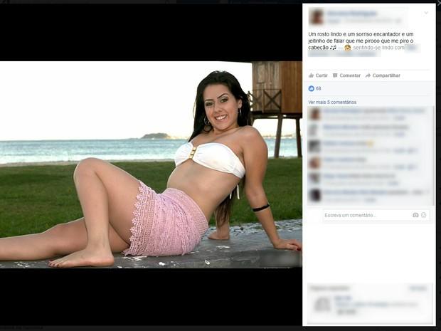 Ex-miss comprou crack em Curitiba, segundo a polícia (Foto: Facebook/Reprodução)