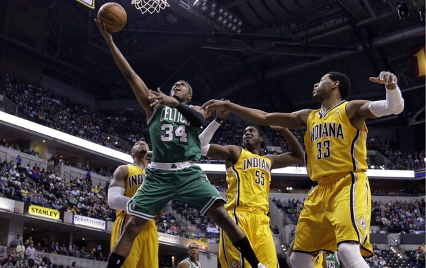 Nba Paul Pierce Indiana x Boston (Foto: AP)