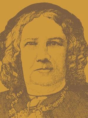 A escritora e educadora Nísia Floresta (Foto: Wikimedia Commons/Aacervo da Biblioteca Nacional)