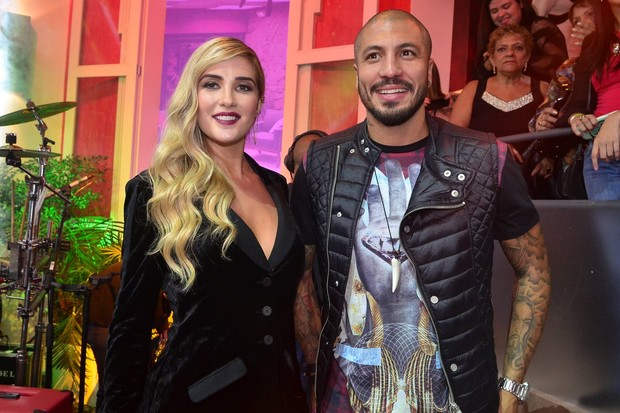 "Aline e Fernando na final do ""Big Brother Brasil 15"" (Foto: Roberto Teixeira/ EGO)"