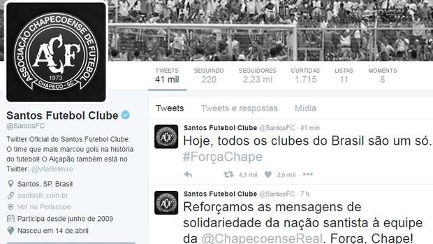 Santos, rede social