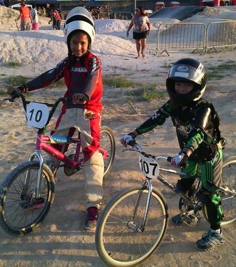 Annyele Rayssa e José Guilherme, BMX Roraima (Foto: Divulgação/ARBX)