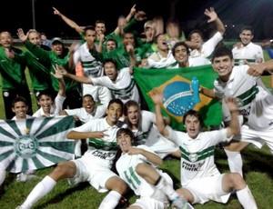 Sub-17 do Coritiba é campeão (Foto: Site oficial do Coritiba/Divulgação)