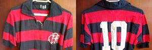Camisas usadas pelo grande astro rubro-negro (Divulgação / Arquivo Pessoal)