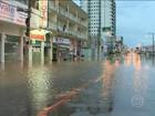 Chuvas fortes e granizo continuam castigando o Sul do Brasil