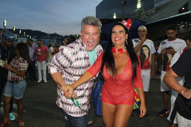 Solange Gomes e Milton Cunha (Foto: Divulgação/Divulgação)