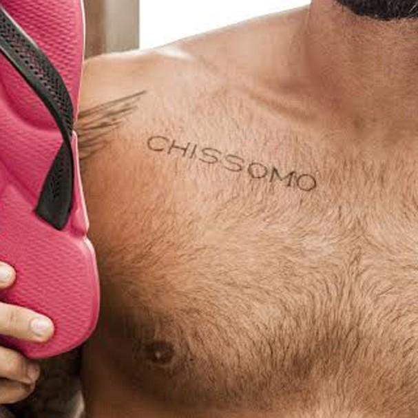 Tatuagem de Bruno Gagliasso (Foto: Divulgação)