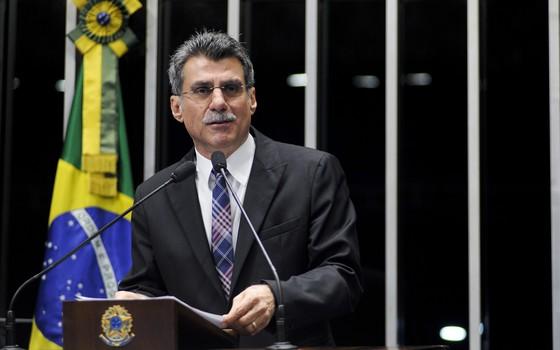 O senador Romero Jucá (PMDB-RR), em foto de 2013 (Foto: Geraldo Magela/Agência Senado)