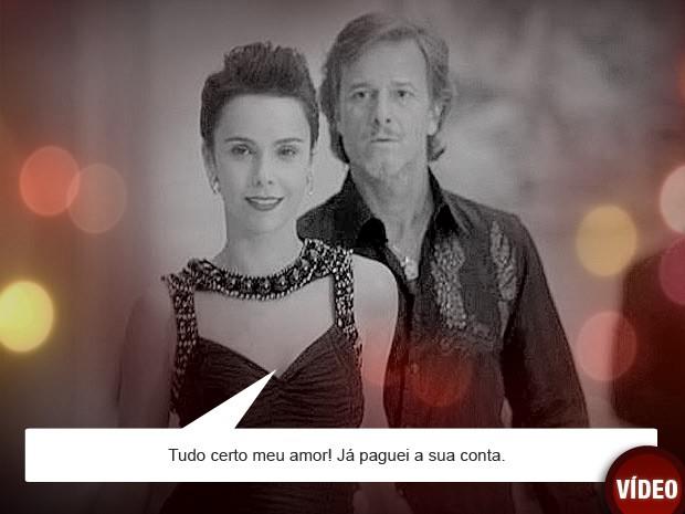 Nina surpreendeu Max pagando a conta do malandro (Foto: Avenida Brasil / TV Globo)