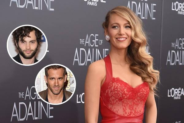 Blake Lively, Penn Bagdley e Ryan Reynolds (Foto: Getty Images)