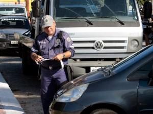 AMC realiza operação de trânsito no local (Foto: Prefeitura de Fortaleza/Divulgação)