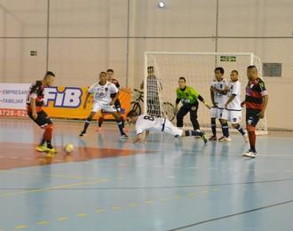 Grêmio Mogiano x Bauru Liga Paulista de Futsal (Foto: Cairo Oliveira)