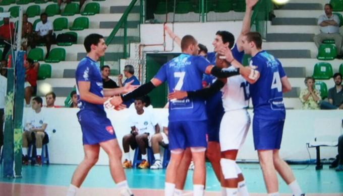 Três Corações vence o Brasília na Superliga B de Vôlei (Foto: Assessoria Imprensa Três Corações)