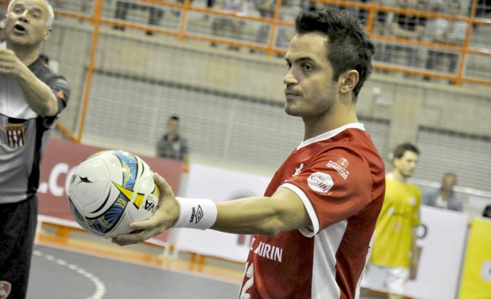 Falcão, ala do Sorocaba Futsal (Foto: Danilo Camargo / Futsal Brasil Kirin)