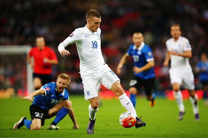 Jamie Vardy - seleção da Inglaterra (Foto: Getty Images)