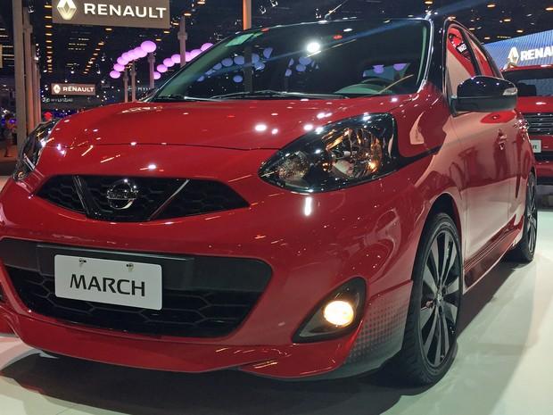 Nissan March Special Edition (Foto: André Paixão/G1)