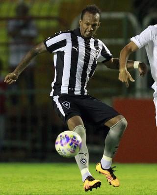 Bruno Silva e Marcel - Resende x Botafogo (Foto: Vitor Silva / SSPress)