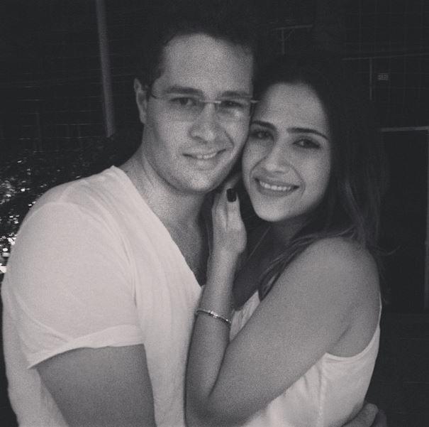 Jéssica Costa e Pedro Leonardo, filhos do cantor Leonardo (Foto: Instagram / Reprodução)