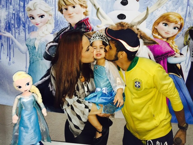 Perlla comemora aniversário da filha, Pietra (Foto: Guimarães Assessoria / Divulgação)