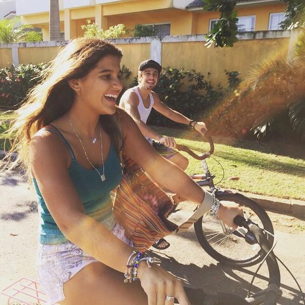 Giulia Costa e o namorado, Eike Duarte (Foto: Instagram/ Reprodução)