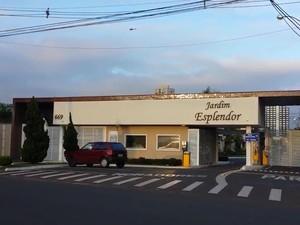 Casa do prefeito de Indaiatuba, Reinaldo Nogueira, foi alvop de operação do Gaeco (Foto: Reprodução / EPTV)